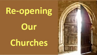 Re-opening our Churches