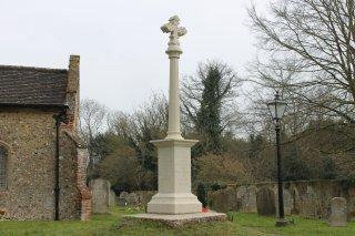 Re-dedication of the Brooke War Memorial