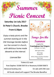 Summer Picnic Concert