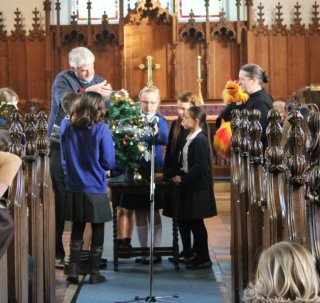 School celebrate at St Peter's